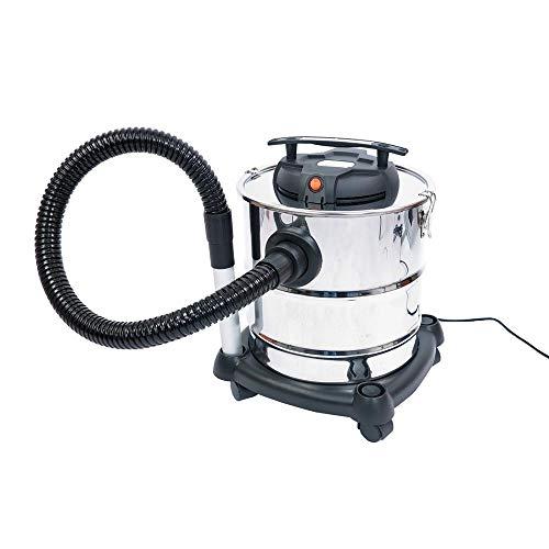 Aspiracenere Aspiratore per cenere, solidi e liquidi FUXTEC - 1200W - 20L - filtro aria HEPA lavabile - FX-K416 - Set di accessori opzionale disponibile