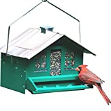 Perky-Pet 8lb Squirrel-Be-Gone II Feeder Home with Chimney