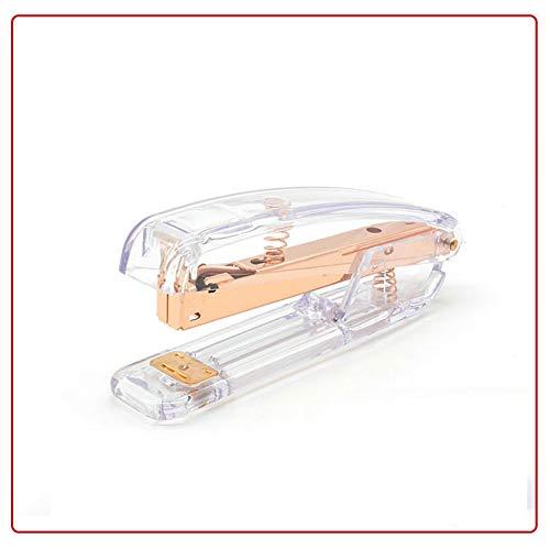 cucitrice Cucitrice meccanica inoro rosaCucitrice in plastica trasparente di alta qualit Legatrice...