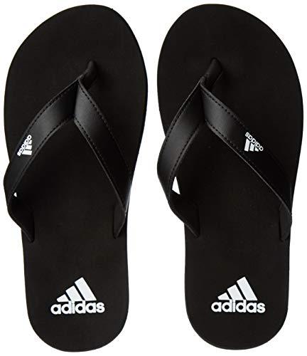 adidas Eezay Flip Flop, Scarpe da Spiaggia e Piscina Uomo, Nero (Core Black/Ftwr White/Core Black...