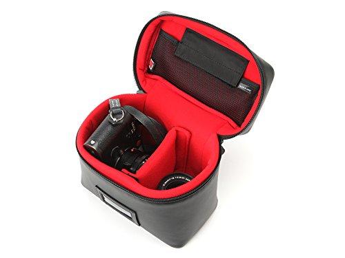アルティザン&アーティスト レンズ付きカメラ+替えレンズ収納用バニティ型ケース<カジュアル・シューティング> ACAM-63N ブラック