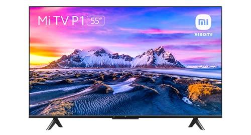 Xiaomi Smart TV P1 55 Pulgada (Frameless, UHD, Triple Tuner, Android 10.0, Prime Video,Netflix,Google Assistant, Bluetooth, 3 HDMI, 2 USB) [Model 2021]