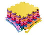 Kit 20 platos tatami eva 50x50-10mm de colores