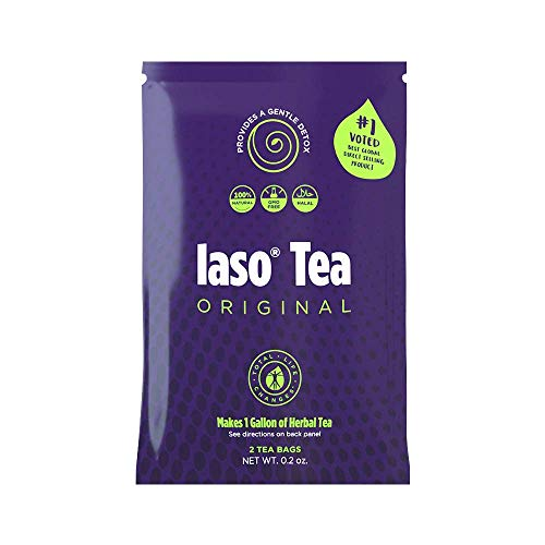 TLC Total Life Changes IASO Natural Herbal Detox Tea Bags - Single Pack (2 Tea Bags) 1 - My Weight Loss Today