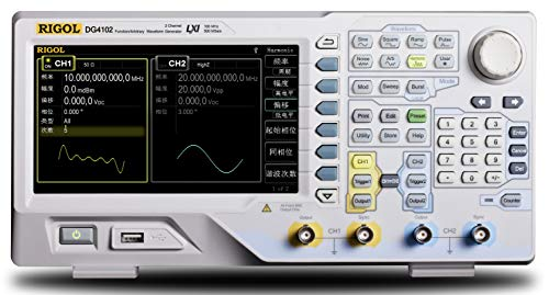Rigol DG4102 100 MHz Arbitrary Waveform Generator