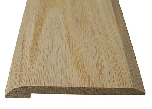 Style 4- Solid Red Oak Interior Threshold- 4 inch Wide (36 inches Long)