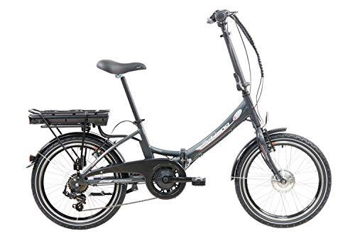 F.lli Schiano E- Star Bicicleta eléctrica, Adultos Unisex, Antracita,...