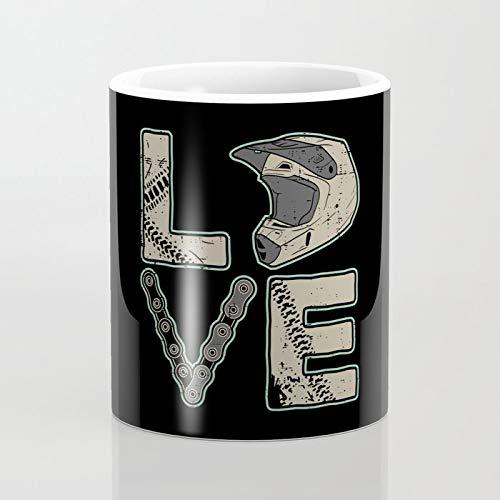 簡素な雑貨屋 ダートバイクモトクロスが大好き おしゃれ セラミック マグカップ マグカップ コーヒーカップ ミルクカップ330ml