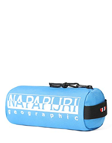 Napapijri Happy Pencil Case 1 Astuccio, 0 cm, Blu francese (Blu) - N0YI0I