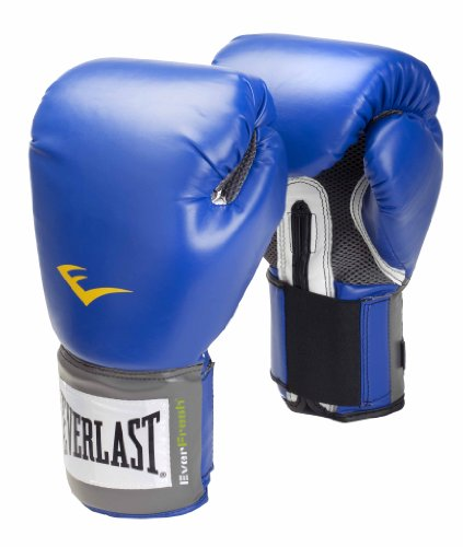 Everlast Pro Style, Guantes de boxeo, Azul, 16 oz