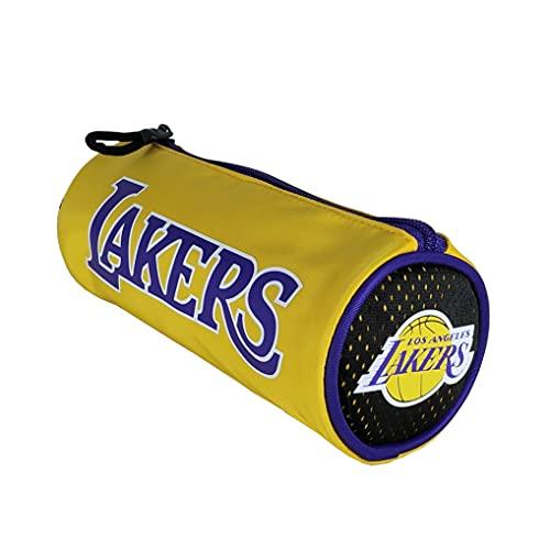 Astuccio Tombolino Los Angeles Lakers Basket Vuoto Ufficiale 64766 -Y