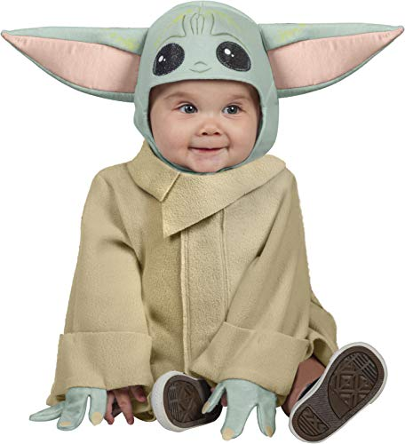 Rubie's Official Disney Star Wars The Child Toddler Costume, Kids Fancy Dress, Size Toddler 1-2 years