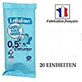 Autocollant-immatriculation Lot DE 20 Ethylotest (Norme NF)