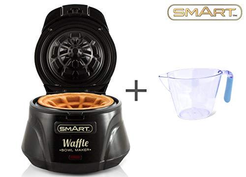 Smart, macchina per waffle, anti-aderente, con controllo automatico della temperatura, inclusa...
