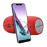 Tragbarer Bluetooth-Lautsprecher für Sport im Freien, kabellos, Mini Soundbar Stereo TF FM Radio Subwoofer Säule Lautsprecher