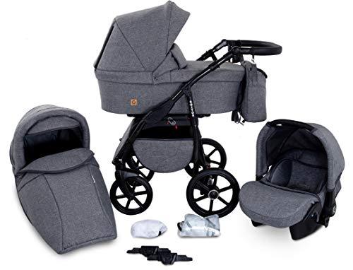 GaGaDumi Boston Passeggino TRIO baby Carrozzina Trio Seggioliono OVETTO AUTO Sistemi modulari...