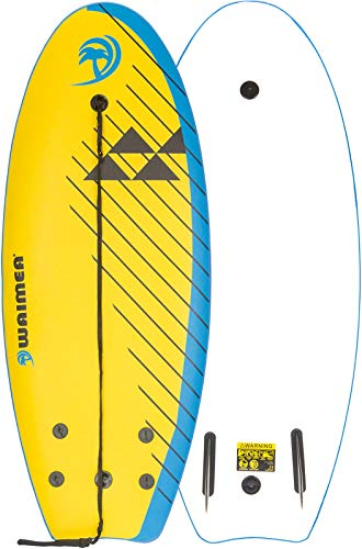Waimea Surfbrett Slick gelb 114 x 45 cm
