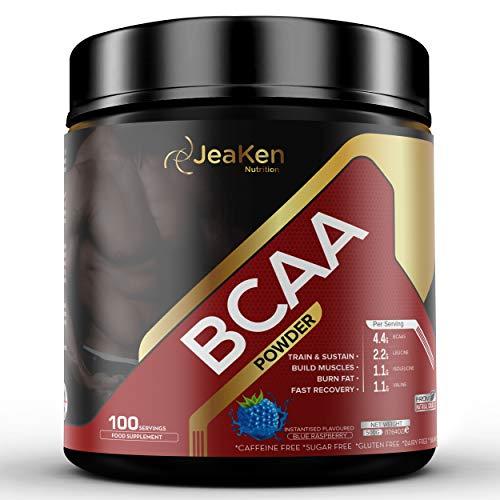 JeaKen AMINOACIDOS BCAA POLVO - Aminoacidos Esenciales Suplementos...