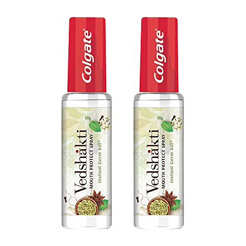 Colgate Vedshakti Mouth Protect Spray - 10gm (Pack of 2)