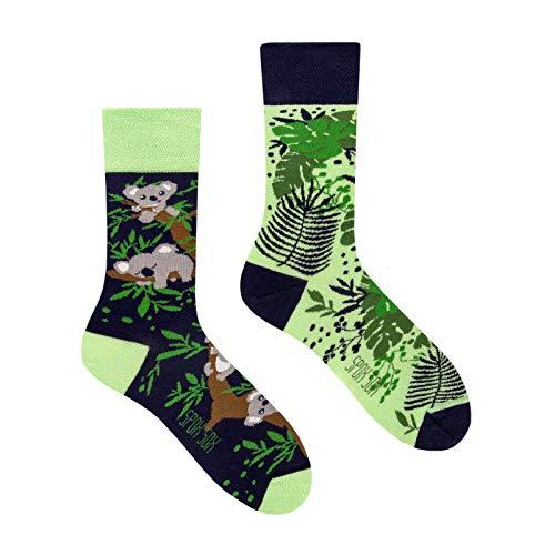 Spox Sox Casual Unisex calze di cotone colorati per individualisti - calzini multicolori, divertenti, fantasiosi e originali per uomo e donna - regalo divertente.