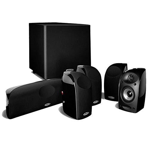 Polk Audio TL1600 - Conjunto de caixas acústicas 5.1 com subwoofer ativo Preto