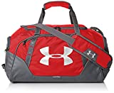 Under Armour Undeniable Duffle 3.0 Gym Bag, Red (600)/Silver,, Medium