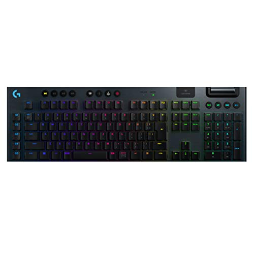 Logicool G ゲーミングキーボード ワイヤレス G913-TC ブラック メカニカルキーボード リニア 日本語配列 L...