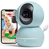 Geeni Smart Home Pet and Baby Monitor with Camera, 1080p Wireless WiFi Camera with Motion and Sound...
