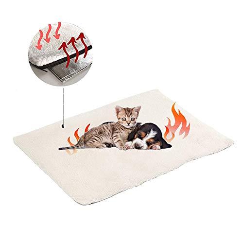 Manta autocalentable para Gatos & Perros,Manta Eléctrica para...