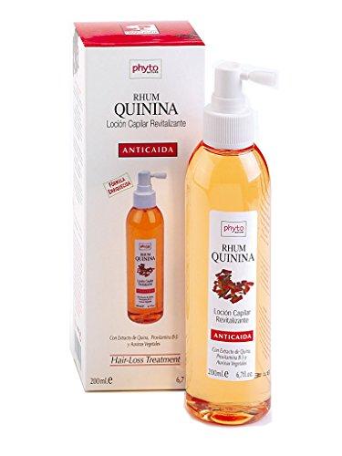 Phyto Nature Rhum Quinina - Loción para cabello anticaída, 200 ml