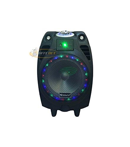 6. IQ Sound IQ-3510DJBT Rechargeable Speaker for Outdoor Parties