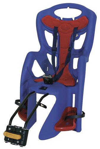 Bellelli Pepe Standard Seggiolino Bici Posteriore per Bambini, Blu