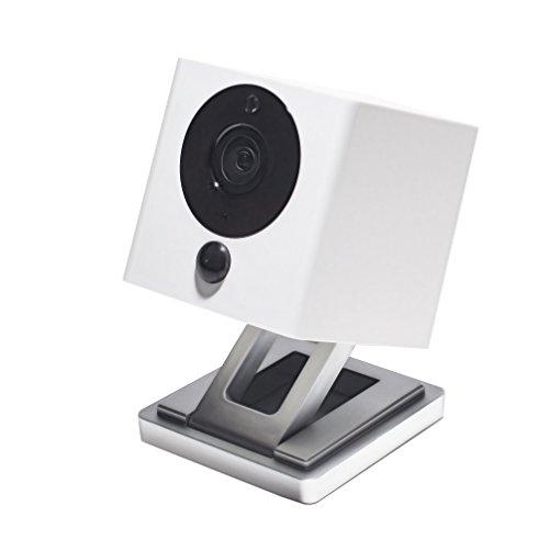 Product Image 1: iSmart Alarm Spot Camera Videocamera di Sicurezza HD Wi-Fi, Bianco