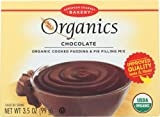 European Gourmet Bakery Organics Cooked Pudding & Pie Filling Mix Chocolate - 3.5 oz (Pack of 4)