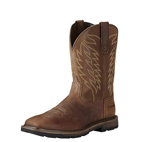 Ariat Men's Groundbreaker Boot, Brown, 9 D US