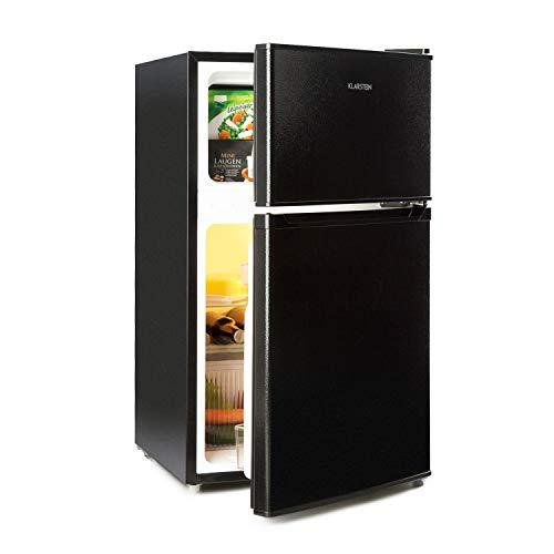 KLARSTEIN Big Daddy Cool - Combo Frigo e Freezer, Frigorifero 61 L, Congelatore 26 L, 42dB, 2...