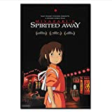 Spirited Away Movie Poster Anime A Voyage of Chihiro Wall Posters Prints...