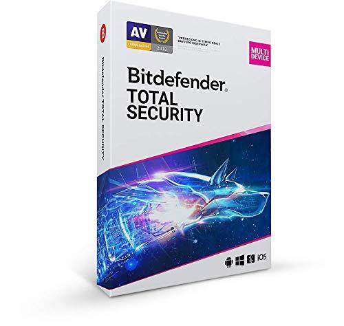 Bitdefender Total Security 2021 | 5 dispositivos | 1 año | PC/MAC | ES