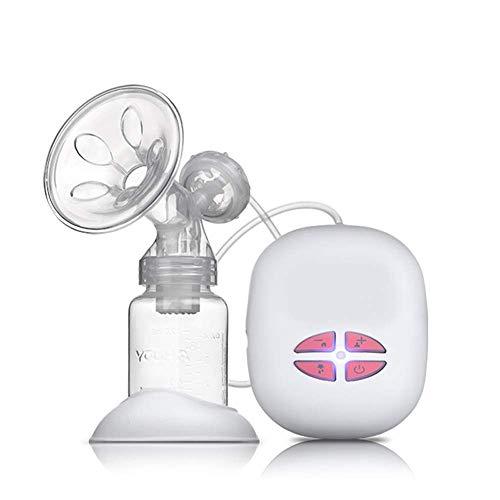 DLYGH Productos para bebés Sacaleches eléctrico, Bombas de ordeño automático de Dispositivos Seno materno for la Lactancia Materna Fundamentos de Bombeo