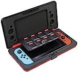 AmazonBasics - Funda rígida tipo caja para Nintendo Switch, Rojo