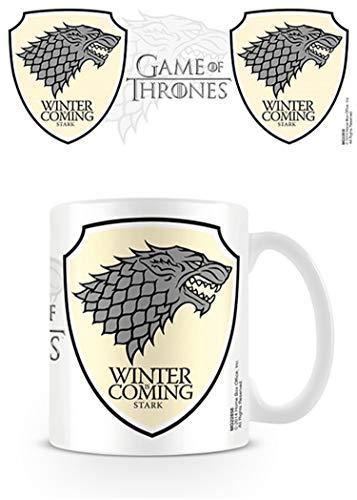 Game Of Thrones Juego de Tronos Stark taza de cerámica
