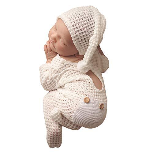 Newborn Photography Props Set Hat Bebe Reborn Accesorios Picture...