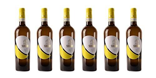 6 bottiglie di Fiano di Avellino DOCG | Cantina Sertura | Annata 2017