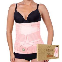 3 in 1 Postpartum Belly Support Recovery Wrap – Belly Band for Postnatal, Pregnancy, Maternity – Girdles for Women Body Shaper – Tummy Bandit Waist Shapewear Belt