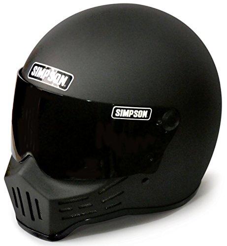 シンプソン(SIMPSON) バイクヘルメット フルフェイス Model30 ストーンブラック 62cm 3305456200
