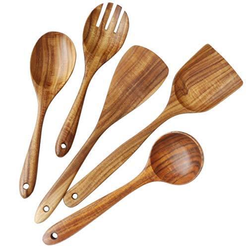 Natural Teak Wood Utensils