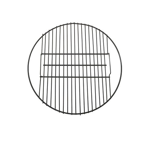 Sunnydaze Fire Pit Cooking Grill Grate for Outdoor Campfire BBQ, Heavy Duty 19-Pound Capacity, Black, 24-Inch