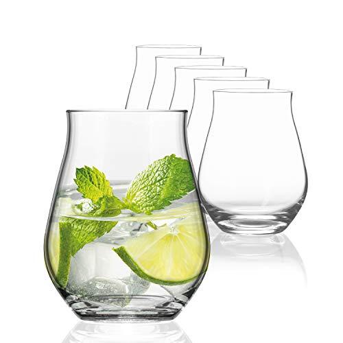 Bicchieri Cocktail 420ml | Set Bicchieri Gin Tonic 6 pz. | Bicchieri Whisky e Set Bicchieri Acqua Vetro | Bicchieri Amaro Eleganti | Bicchieri Vetro
