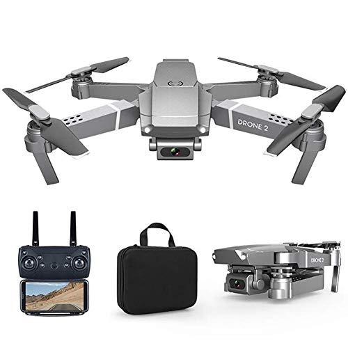 ZHCJH Drone WiFi FPV con videocamera 4K, quadricottero RC Drone Pieghevole a 4 canali a 6 Assi con giroscopio per Principianti con Mantenimento dell'altitudine, modalit Senza Testa