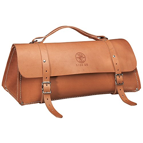 Deluxe Leather Bag, 20-Inch Klein Tools 5108-20